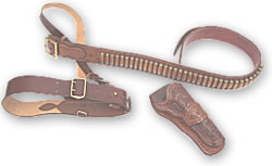 Magnum Western and Sam Brown gun belts